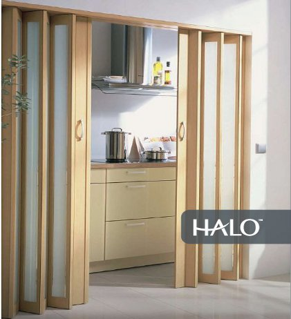 Panelfold nuvo designer series panelfold accordion doors for Accordion doors
