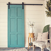The 6-Panel door is a perfect blend of classic and contemporary. A two sided door made by hand to ensure the highest quality and design.