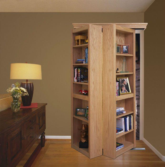 Woodfold Bookcase Doors Accordion Doors