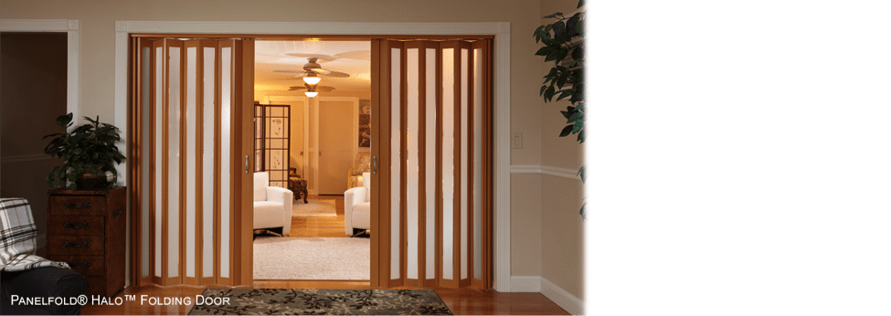Accordion Door Installation 1  sc 1 st  Accordion Doors & The Best Installations of Accordian Doors | Accordion Doors | Custom ...