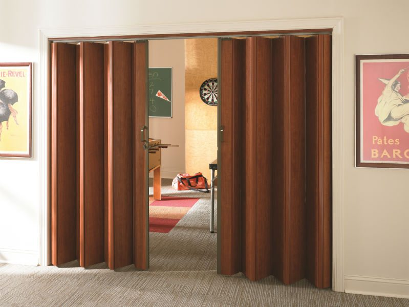Accordion Doors for Autumn