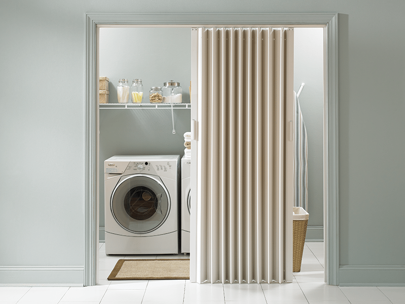 Folding Doors For Laundry Room : Accordion folding doors are they right for your renovation