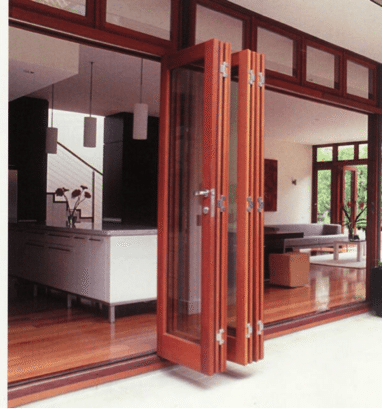 The Best Installations Of Accordian Doors