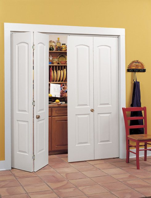 Need To Organize Small Space Accordion Doors To The Rescue