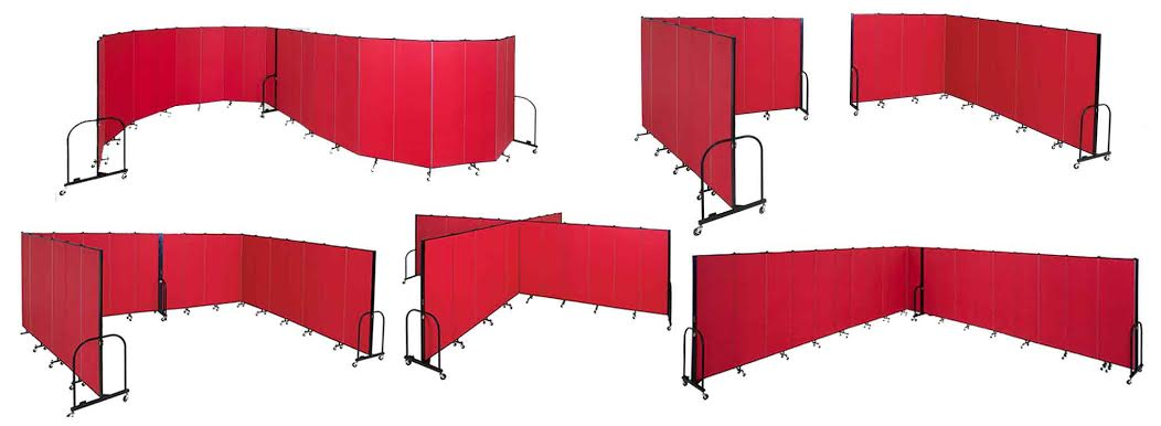 Configurations of Screenflex Room Divider